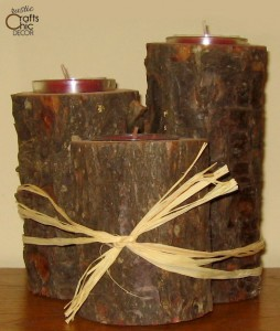 pine-candle-holder