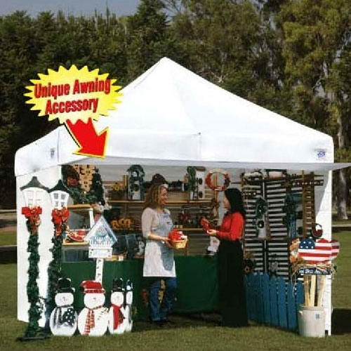 Craft Booth Tent http://rustic-crafts.com/?p=274
