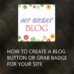blog button tutorial