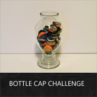 bottle cap craft challenge