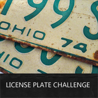 license plate craft challenge