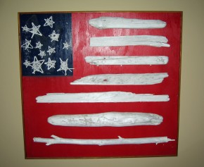 driftwood flag