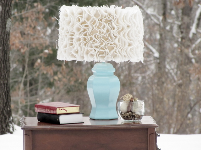 Can I Paint A Burlap Lamp Shade