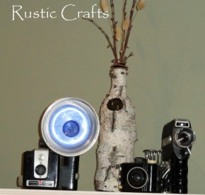 Craft Ideas Empty Wine Bottles on Roundup Of Great Wine Bottle Crafts   Rustic Crafts   Chic Decor