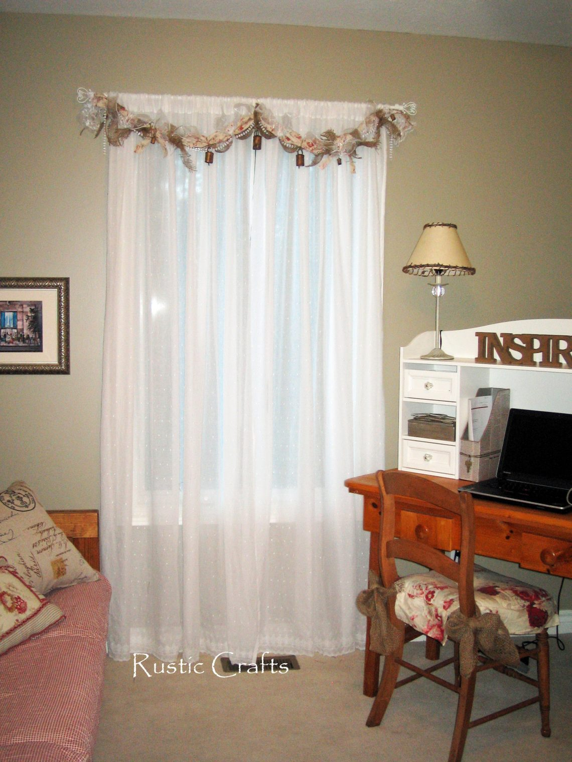 How To Make A Rag Swag Window Treatment