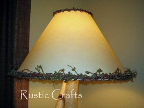 rustic lampshade copy