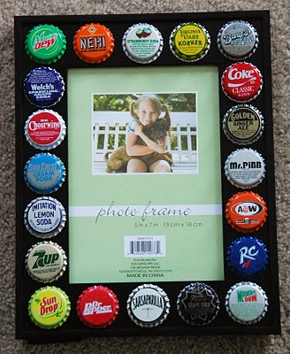 A Roundup Of Fun Bottle Cap Crafts - Rustic Crafts & Chic Decor