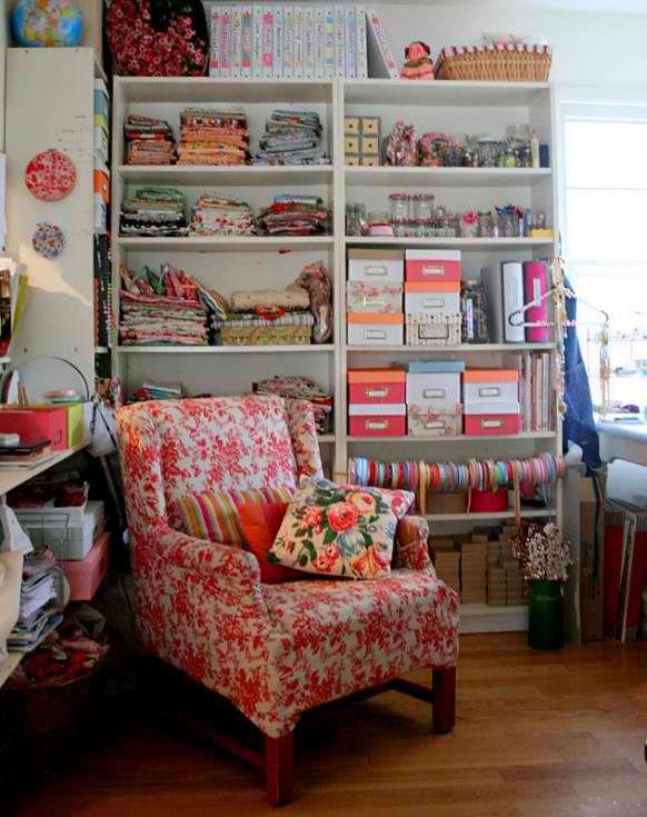 One Of The Things Craft Room Designs Rustic Crafts Chic Decor