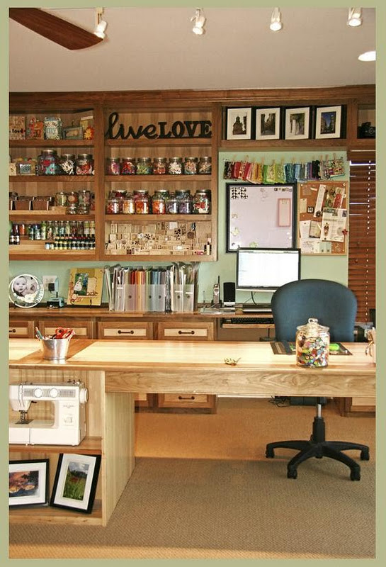 Craft Room Designs Rustic Crafts Chic Decor