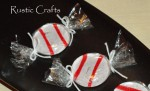 faux peppermint candy