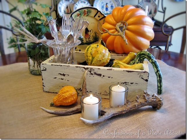 Thanksgiving centerpieces that you can make in a rustic