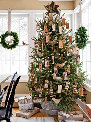 Rustic Christmas Tree Decorating Ideas Crafts