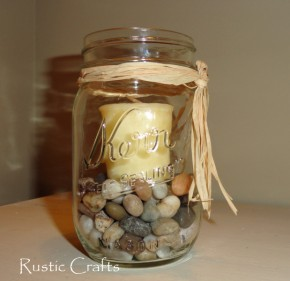 Craft Ideas Canning Jars on With Mason Jars  Seven Rustic Ideas   Rustic Crafts   Chic Decor