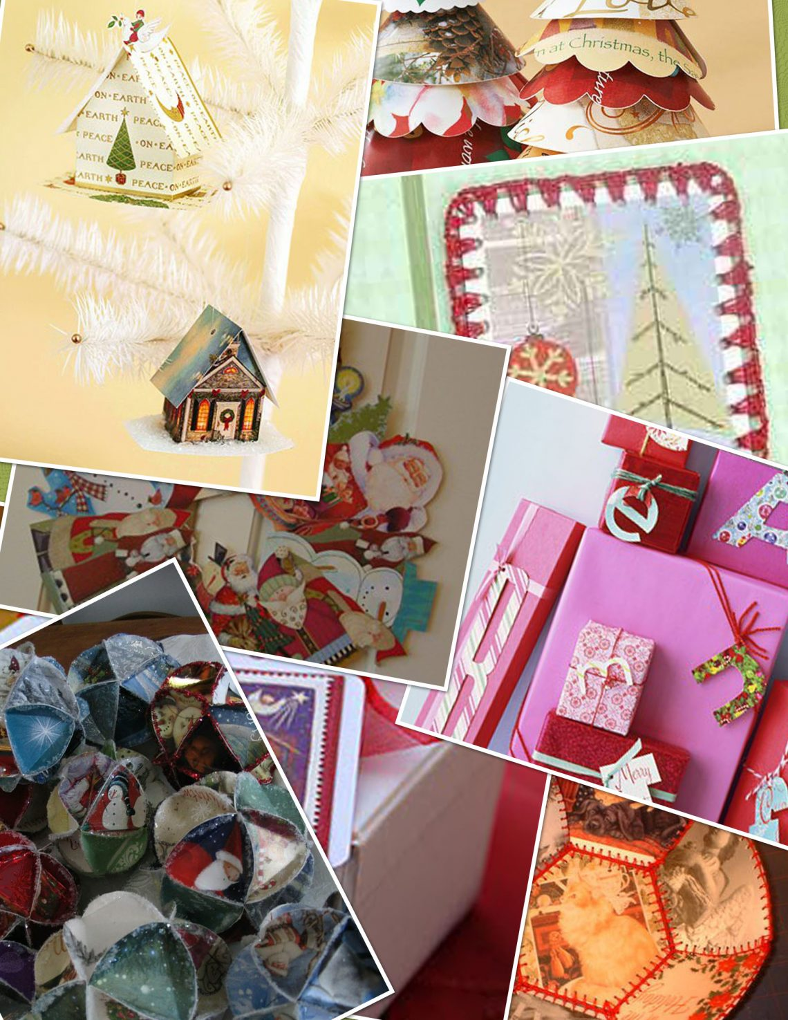 Recycle Christmas Cards Into One Of These Ten Christmas Decorations