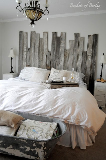 White In A Rustic Shabby Chic Bedroom Rustic Crafts Chic Decor