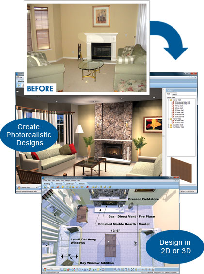 Use Decorating Software To Easily Plan Out Your Interior Design Rustic Crafts Chic Decor