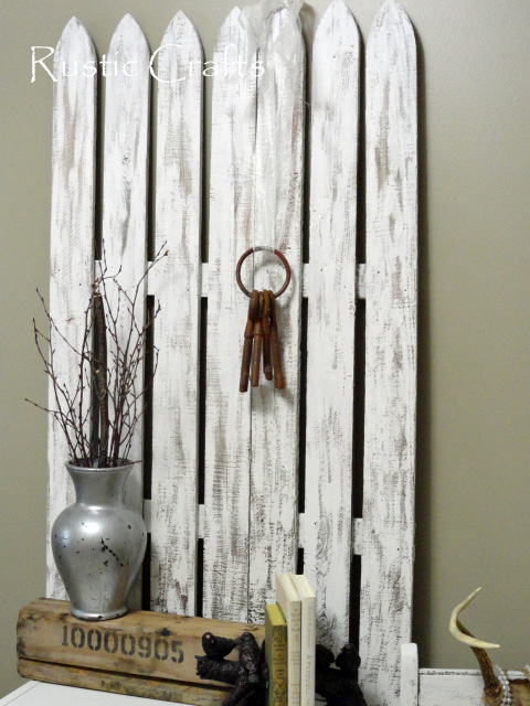 My Shabby Picket Fence Gets A Chic Makeover And A New Home