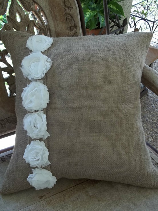 Shabby Chic Pillow Ideas : Shabby Chic Pillow Ideas Rustic Crafts & Chic Decor