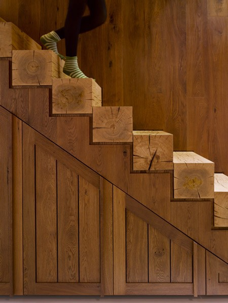 Shabby DIY Ideas For Decorating Stairs Rustic Crafts