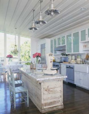 Ideas for decorating a shabby chic kitchen rustic crafts for Rustic chic kitchen ideas