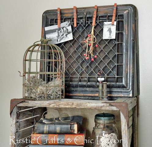 Rustic Crafts and Chic Decor