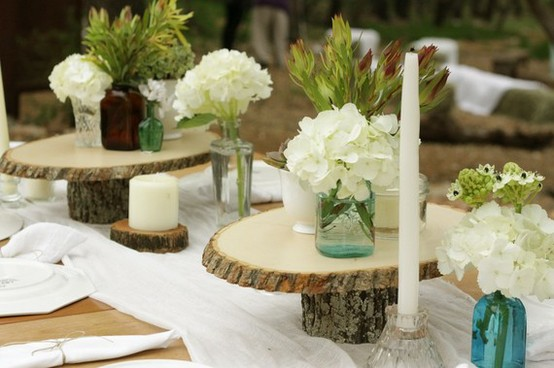 Rustic Wedding Centerpieces That You Can Make