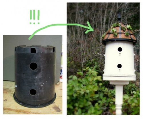 how to make homemade bird houses