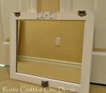 medicine cabinet mirror door