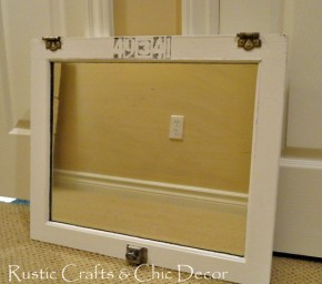 medicine cabinet mirror door