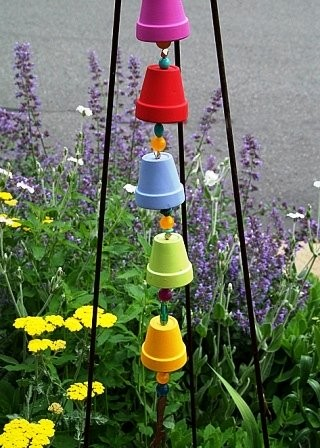 Ideas For Flower Pots: Creative Ways To Use Old Flower Pots ...