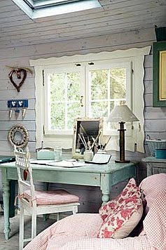source chic vintage home office