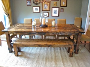 Seven Rustic Dining Room Tables To Inspire You | Rustic Crafts ...
