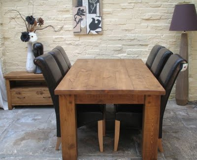 Dining Room on Seven Rustic Dining Room Tables To Inspire You   Rustic Crafts   Chic