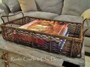 junk basket table decor1