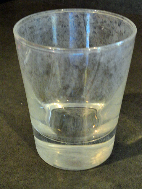 Water Spots On Drinking Glasses