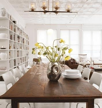 Seven rustic dining room tables to inspire you rustic for Rustic dining room design