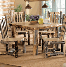 Rustic Round Dining Room Table beautiful rustic dining room tables table and chair sets two