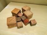 pile of blocks