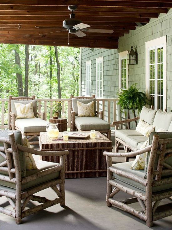 The Best Rustic Patio Furniture For A Cozy Outdoor Gathering