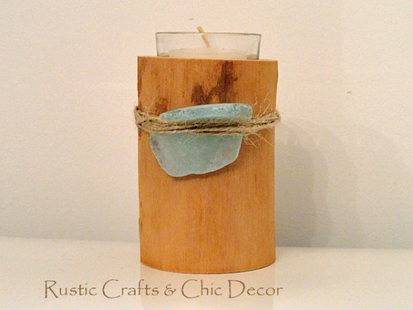 sea-glass-candle-holder