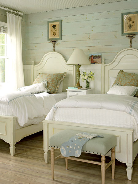 Country Beach Decorating Ideas : Cottage Bedroom Ideas And Unique Sleeping Nooks To Maximize Space ...