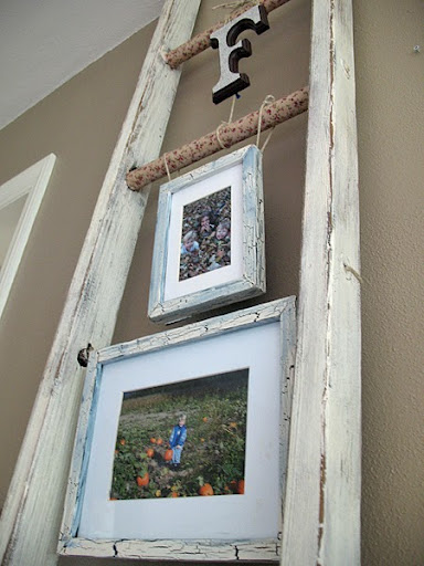 ladder-picture-display