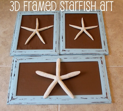 framed-starfish-art
