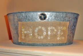 hope galvanized tub