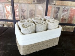 Tissue box craft by Southern Flair Crafts.