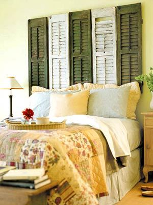 Decorating With Shutters: