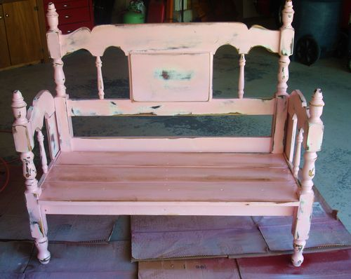 shabby-chic-bench