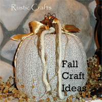 Craft Ideas Maps on Fall Craft Ideas Using Recycled Materials   Rustic Crafts   Chic