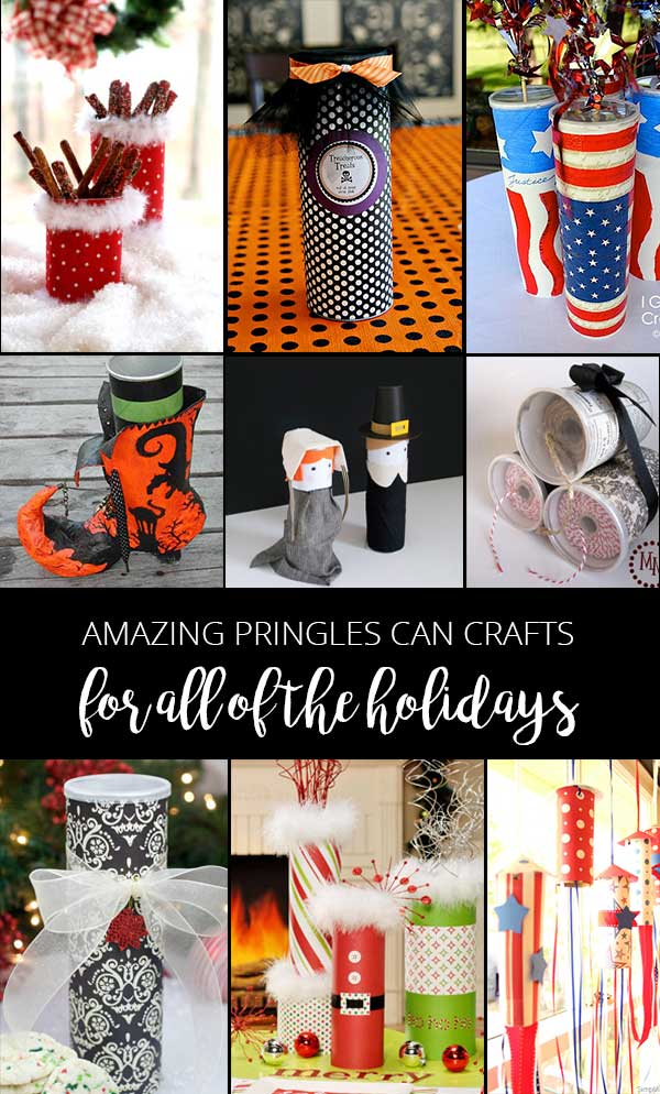 Pringles can crafts