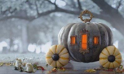 Cinderella Pumpkin Decorating Ideas